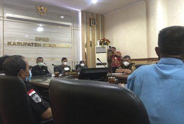 Pimpinan DPRD dan Komisi IV Temui LSM dan Aliansi Masyarakat